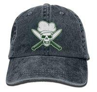 Cappelli da baseball elasticizzati regolabili multi-colore degli uomini  regolabili del cappello del cappello del denim verde del cranio del cuoco  unico f946e977ea26