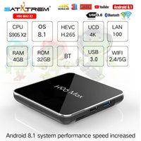 Wholesale H96 Max X2 Smart TV BOX Android H96Max Amlogic S905X2 LPDDR4 G G G G G G Quad Core Dual Wifi H K Media Player