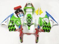 обтекатель мото оптовых-Зеленый обтекатель Moto Moto, пригодный для ниндзя Кавасаки ZX6R 636 ZX-6R 2000 2001 2002 00 01 02 Обтекатель Выполненный на заказ инжектор для кузова мотоцикла A97