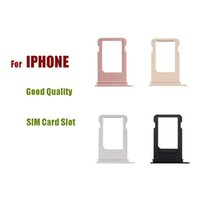 Wholesale slot sim card tray iphone 5c for sale - Group buy SIM Card Slot For IPhone s c SE plus S Plus PLUS SIM Card Tray Holder Slot Replacement Spare Repair Parts