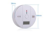 rauch-carbon-detektoren großhandel-DLM2 10pc Wireless Batteriebetriebenes Gasalarm-Sicherheitssystem Alarm Rauch Kohlenmonoxid CO-Detektoren Gasalarm 10A
