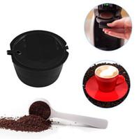 cesta de copos venda por atacado-Recarregável Nescafé Dolce Gusto Cápsulas De Café Reutilizável Pod Cup Filtro Filtro De Café Cestas Cápsulas Acessórios de Cozinha OOA4396