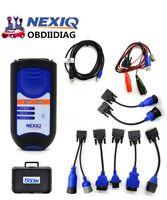 Wholesale Nexiq Bluetooth - Top Selling NEXIQ USB Link NEXIQ Diesel Truck Diagnostic Tool NEXIQ With Bluetooth USB Link Heavy Duty Truck With S0ftwa-re