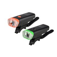 Wholesale USB Rechargeable Water resistant Bike Front Handlebar Flashlight