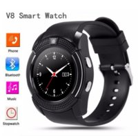 Wholesale smartwatch for children online – V8 Bluetooth Smartwatch With Sim TF card For Women Men Child Sports Wristwatch Support M Camera For Android
