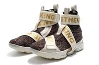 zapatos de baloncesto en línea envío gratis al por mayor-Los precios al por mayor caliente 15 zapatos de vitral envío gratis zapatos de baloncesto reales tienda en línea con la caja de envío de la gota