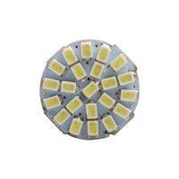 luces delanteras de auto al por mayor-2P 1156 22SMD P21W BA15S Bombilla LED Luces delanteras automáticas Luces de freno Luces de giro Parrking Lámpara Bombilla DC 12V blanco amarillo