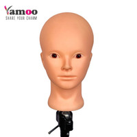 Wholesale mannequins for makeup practice for sale - Group buy Training Mannequin Head for practice makeup Professional high quality and nice maniquies women mannequin head with small stands