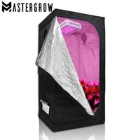 Wholesale grow tent rooms for sale - Group buy MasterGrow X50X100cm Indoor Hydroponics Grow Tent Led Grow Light Grow Room Plant Growing Reflective Mylar Non Toxic Garden Greenhouses
