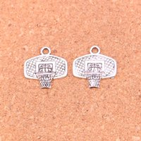 commercio all'ingrosso 520 pz / lotto Tibetan Silver Plated basket basket Pendenti di Fascini per Monili Che Fanno DIY Mestiere Handmade 20 * 19mm