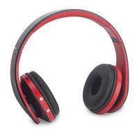 auricular bluetooth radio estéreo al por mayor-Sorpu EB203 HiFi Auriculares Bluetooth Inalámbricos Inalámbricos Auriculares con Cancelación de Ruido con Micrófono, Tarjeta TF, Radio FM