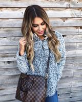 velo macio venda por atacado-Moda feminina Oversize Fluffy Fleece Inverno Solid Casual camisola 2018 Womens Gola Zip Up Warm Fleece Camisola Pullover Outwear