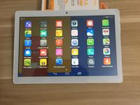 16gb allwin tablet toptan satış-Tablet PC 10.1 inç MTK6580 Dört Çekirdekli 3G telefon Android4.4.2 Tablet 1GB RAM 16GB Rom IPS Ekran Bluetooth ile