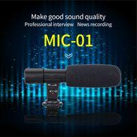 professionelle mikrofonstimme großhandel-RABYSALE Wired Professionelle Mikrofon Sprachaufnahme Digitalkamera Stereo Recorder Camcorder DSLR Videointerview
