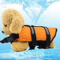 Wholesale raincoat dog red - Kimhome Pet Small Dog Clothes Summer Safety Vests Reflective Dog Shirt Yorkshire Terrier Tshirt Dog Life Jacke Raincoat Xxs -Xxl