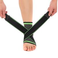 knöchelunterstützung für sport großhandel-Brand New Adult Unisex Knöchelriemen Unterstützung Basketball, Fußball, Badminton Sport Sicherheit Schutz Knöchelschutz warme Socken freie Größe