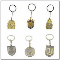 Wholesale small cartoon fans - World Cup Fans Souvenir Keychain Exquisite Small And Clever Portable Vintage Keys Ring Buckle Souvenirs CCA10040 140pcs