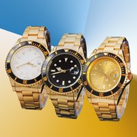 Wholesale military watch automatic resale online - 2018 Hot sale man Military watch Stainless steel luxury Casual wristwatch steel quartz watches clock male brand watch