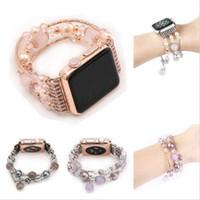 vea chic al por mayor-Nueva pulsera de reloj para mujer elegante para 42mm 38mm Serie Apple Watch 1 2 3 Watchstarp