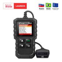 Wholesale cars daewoo online - LAUNCH X431 Creader Full OBD2 OBDII Code Reader Scan tools OBD CR3001 Car Diagnostic tool PK AD310 NL100 OM123 Scanner