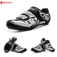 Wholesale Men Wearing Slips - BOODUN Outdoor Men Cycling Shoes Breathable Road Running Shoes Self-locking Bicycle Bike Shoes Wear-resistant Sapatos de ciclismo