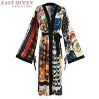 japanese kimono geisha al por mayor-Kimono japonés vestido tradicional cosplay mujeres yukata mujeres haori Japón geisha traje obi kimonos mujer 2018 FF1062