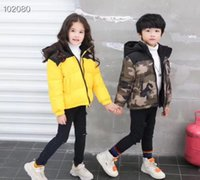 Wholesale Baby Boys Jacket Autumn Winter Kids Girls Warm Thick Coat Fashion Children Outerwear Toddler Girl Boy Clothes