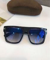 Wholesale mod sunglasses resale online - Cool Mens Sunglasses Mod ft0711 Fausto Black Grey Gafas de sol Luxury designer sunglasses glasses Eyewear high quality New with Box