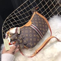 Wholesale Fashion Cute Dresses - New Fashion Bags women's Shoulder bag Leather handbag brand Ladies pretty Cute bags brown