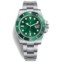 Wholesale men's luxury watches for sale - Famous Logo R2Submariner Date The Diver S Watch Oystersteel Oyster mm Watches For Men Waterproof Luxury Brand Business Watches