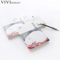 bloco de notas do gato venda por atacado-Vividcraft Japonês Mão Livros Em Branco Papelaria Notebook Papelaria Criativo Restaurando Gatos Notepad Coréia Do Sul Mão Livro Conta