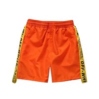 şalgam hip hop harem pantolon çocuklar toptan satış-Erkekler Şort Plaj Kurulu Şort Erkekler Çabuk Kuruyan 2018 Yaz Giyim Boardshorts Kumlu Plaj Drop Shipping