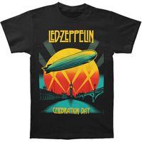 Wholesale led zeppelin shirt xl - Led Zeppelin Men's Celebration Day T-shirt Black