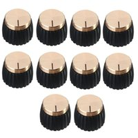 Wholesale marshall amps resale online - 5 of x Guitar AMP Amplifier Knobs Push on Black Gold Cap for Marshall Amplifier