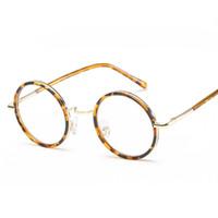 dc4dbdc03f537 colorful Small Round Glasses Frame Men Women Vintage Eyeglasses Male Myopia  Women s Degree Optical Lens Nerd. 51% Off