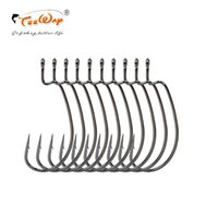 Wholesale ice fishing baits lures resale online - 60pcs High carbon steel fishing hooks crank hook lure Worm Pesca for Soft Bait Tackle high quality accessories