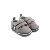 Wholesale baby boy moccasins online - Spring and Autumn Baby Girls Boys Shoes Canvas Newborn First Walker Shoes Soft Sole Anti slip Infant Moccasins Sneakers