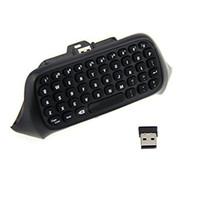 Wholesale keyboard microsoft - Kobwa ABS 2.4G Mini Wireless Chatpad Message Game Controller Keyboard for Microsoft Xbox One Controller