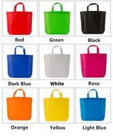 marineblaue brieftaschen großhandel-Umweltfreundliche Einkaufstasche Eco wiederverwendbare faltbare nichtgewebte Einkaufstasche-Lebensmittelgeschäft-Speicher-Handtaschen-Abfallplastikabfallhandtasche