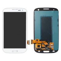 Wholesale galaxy s3 assembly - For Samsung Galaxy S3 i9300 LCD Display Touch Screen Digitizer Full Assembly Replacement