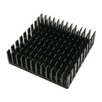 Wholesale Cool Fins - NOYOKERE Top Quality 40mm*40mm*11mm DIY Cooler Aluminum Heatsink Cooling Fin Heat Sink for LED Power Memory Chip IC Black Color