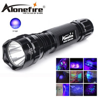 Wholesale Pet Cave - 395nm Uv Led Flashlight 501Bs Led Ultra Violet Light Torch Lamp Black Light Detector Dog Urine Pet Spots and Bed Bug