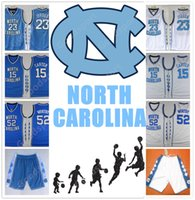 Wholesale cheap sports shorts - HOT Stitched NCAA New Version North Carolina COLLEGE SHIRTS SHORTS 23 MICHAEL J WORTHY Sport CHEAP WHOLESALE Embroidered
