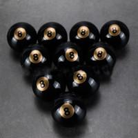 yapışmaz mum toptan satış-Siyah Yapışmaz Balmumu Konteynerler Silikon Kutu 6 ml Silikon Konteyner Gıda Sınıf Kavanozlar Vape FDA Onaylı Için Dab Aracı Depolama Y ...