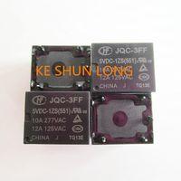 Wholesale 5vdc relay - Free shipping lot(5pieces lot)100%Original New HF HF3FF JQC-3FF-5VDC-1ZS JQC-3FF-12VDC-1ZS JQC-3FF-24VDC-1ZS 5PINS 10A Power Relay