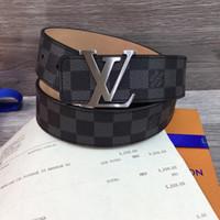 Wholesale Men Belt Buckles Western - Wild personality Men's belt tiger head pattern metal buckle strap male 100% genuine leather designer belt western cowboy style belt gif