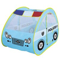 Wholesale child play pool resale online - Large Play House Toy Tent Children Funny Oceanic Pool Parent Child Communication Interactive Toy Lovely Police Tents dm W