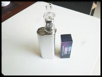vape trockenkraut befestigung großhandel-Neue Vape Mod Wax Dry Herb Vaporizer 2018 Wachsaufsatz Quarz Tasse keine Spule kein Docht Wax Dry Herb Backen Technologie einfach klar