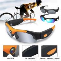 Wholesale sunglasses hidden hd online - Mini HD1080P Camera Glasses Hidden Eyeglass Sunglasses Cam Eyewear DVR Camcorder