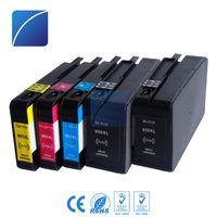 Wholesale pro printers - ZH 5x Ink Cartridges 950XL 951XL Compatible For HP950 951 Officejet Pro 8610 8600 Plus Printer